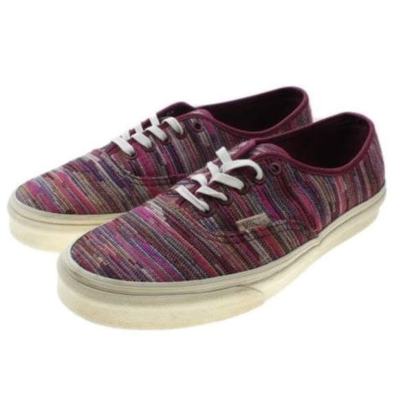 7680881154 VANS Authentic CA Italian Weave Fabric Sneakers. M 5c416719bb76154b4265dd1e